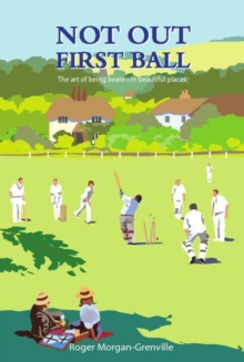 Not Out First Ball, Hardback Book