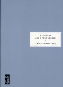 Dimanche and Other Stories, Paperback Book