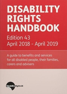 Disability Rights Handbook: April 2018 - April 2019, Paperback / softback Book