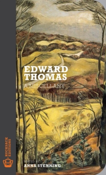 Edward Thomas : A Miscellany, Paperback Book