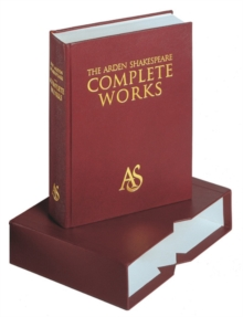 Arden Shakespeare Complete Works, Hardback Book