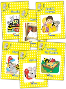 Jolly Phonics Readers, Inky & Friends, Level 2 : in Precursive Letters (BE), Paperback Book