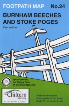 Burnham Beeches and Stoke Poges, Sheet map, folded Book