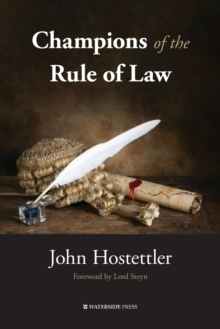 Champions of the Rule of Law, Paperback Book