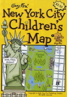 Guy Fox New York City Children's Map, Sheet map Book