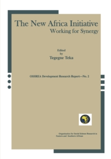 The New Africa Initiative : Working for Synergy, Paperback Book