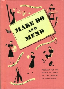 Make Do and Mend, Hardback Book