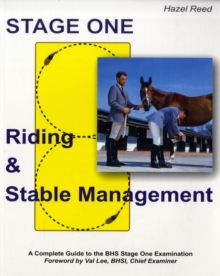 Riding and Stable Management : Stage One, Paperback Book