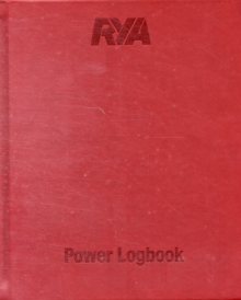 RYA Power Logbook, Hardback Book