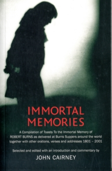 Immortal Memories, Paperback Book
