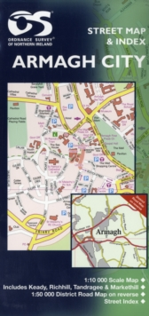 Armagh City, Sheet map, folded Book