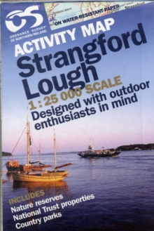 Strangford Lough, Sheet map, folded Book
