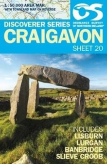 Craigavon, Sheet map, folded Book