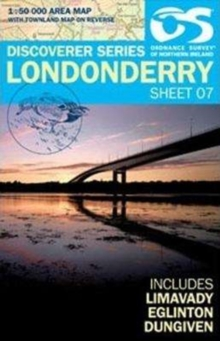 Londonderry, Sheet map, folded Book