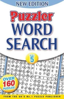 Puzzler Word Search : Vol. 5, Paperback Book
