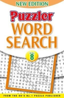 Puzzler Word Search Volume 8, Paperback Book
