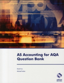 AS Accounting for AQA Question Bank, Paperback / softback Book
