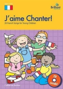 J'aime Chanter! : 20 French Songs for Young Children, Mixed media product Book