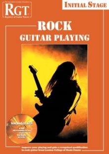 RGT Rock Guitar Playing - Initial Stage, Mixed media product Book