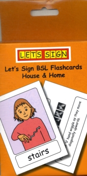 Let's Sign BSL Flashcards : House and Home, Cards Book