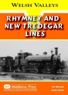 Rhymney and New Tredegar Lines, Hardback Book