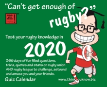 CANT GET ENOUGH OF RUGBY B 2020,  Book