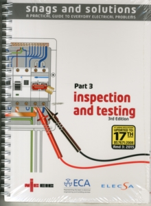 NICEIC 5612 SNAGS 3 3RD AMD, Spiral bound Book