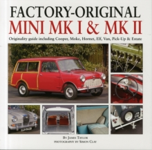 Factory-Original Mini Mk1 & Mk2, Hardback Book