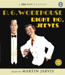 Right Ho, Jeeves, CD-Audio Book