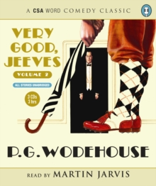 Very Good Jeeves (Volume 2) 3xcd, CD-ROM Book