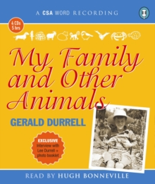 My Family and Other Animals, CD-Audio Book