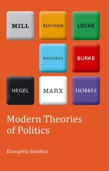 Modern Theories of Politics, Paperback Book