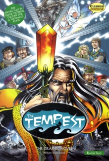 The Tempest : The Graphic Novel Quick Text, Paperback / softback Book