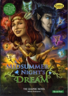 A Midsummer Night's Dream the Graphic Novel : Quick Text, Paperback Book