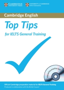 Top Tips for IELTS General Training Paperback with CD-ROM, Mixed media product Book
