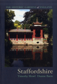 Gardens of Staffordshire, Paperback Book