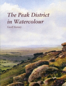 The Peak District in Watercolour, Paperback Book