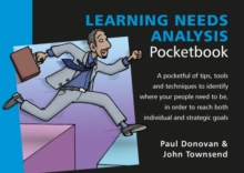 Learning Needs Analysis Pocketbook, Paperback Book