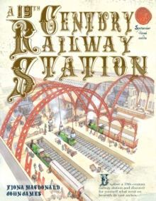 A 19th Century Railway Station, Paperback Book