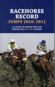 Racehorse Record Jumps, Paperback Book