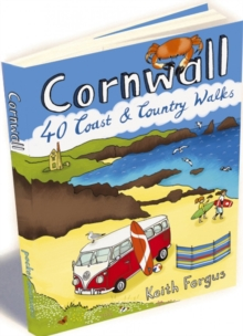 Cornwall : 40 Coast and Country Walks, Paperback Book