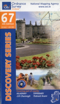 Kilkenny, Tipperary, Sheet map, folded Book