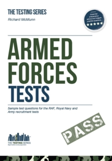 Armed Forces Tests (practice Tests for the Army, RAF and Royal Navy) : 1 1, Paperback Book