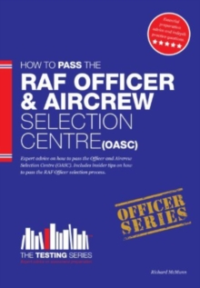 Royal Air Force Officer Aircrew and Selection Centre Workbook (OASC), Paperback Book