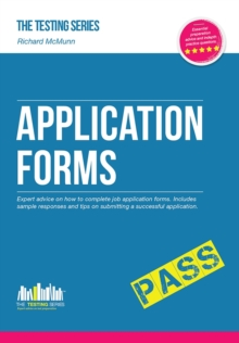 How to Pass Application Forms: Sample Questions and Answers, Paperback / softback Book