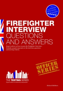 Firefighter Interview Questions and Answers, Paperback / softback Book