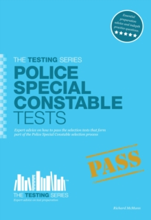 Police Special Constable Tests, Paperback / softback Book