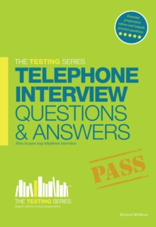 Telephone Interview Questions and Answers Workbook + FREE Access to Online TRAINING VIDEOS, Paperback Book
