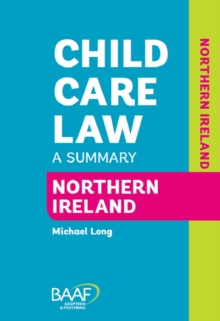 Child Care Law Northern Ireland, Paperback Book
