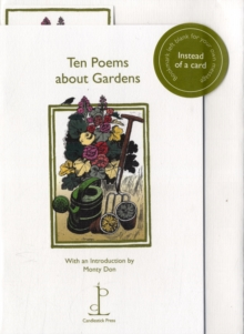 Ten Poems About Gardens, Pamphlet Book